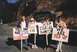RCC protesting SSFL radioactive waste going to Buttonwillow.